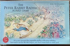 The Peter Rabbit radish board game. Excellent condition.