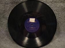 "78 RPM 10"" Record Anton Karas The Cafe Mozart Waltz & The Third Man London 536"