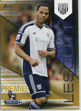 TOPPS PREMIER GOLD 2014 JOLEON LESCOTT WEST BROMWICH ALBION 1 OF 1 NEW