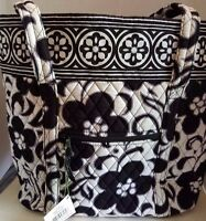 Vera Bradley Night And Day Tote Shoulder Bag
