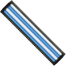 "HO T5 Quad Aquarium Light Fixture 48"" & 4x 54W T5 Bulb 10000K Day & Super Blue"