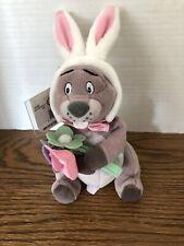 "Disney Easter Bunny Gopher Mini Bean Bag 7"" Plush Toy"