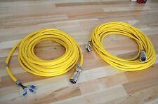 *NEW* Parker 35ft 'MS' Servo Motor & Encoder Cables 71-018304-35  & 71-018308-35