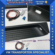 VW T5 T5.1 T6 Kombi Side Step, Light Unit & Wiring Kit Sliding Door Genuine