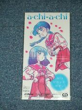"anime  WATARU 3 魔神英雄伝 Japan 1992 MINT Tall 3"" CD Single A-CHI-A-CHI 涙のセカンド・ボタン"