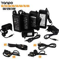1A 2A 3A 5A 8A DC 5V 12V 24V Power Supply Adapter Transformer For 5050 LED Strip