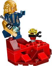 Lego Marvel Super Heros 'Ayesha' Mini Figurine + Cliff Section - Séparé de 76080