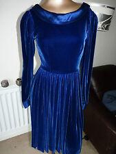 Patternless Long Sleeve Velvet Dresses Midi