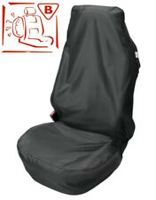 Car Seat Cover Protector Front Easy Fit Airbag Safe Universal Black Waterproof