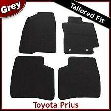 Toyota Prius Tailored Fitted Carpet Car Mats GREY (2004 ... 2006 2007 2008 2009)