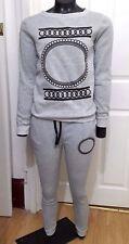 NUOVO un LING Fushi Girls Grey sweatsuit-S