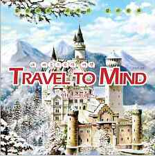 Anti Stress Coloring Book Travel to Mind For Adult Healing Art Sketch Therapy
