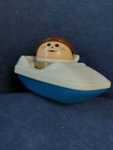 Vintage Little Tikes Toddle Tots Figure Play Character with Boat
