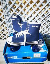 Patins À Roulettes ROCES Quad Skates Kuod Classic Roller Blue 4 Roues T. 45 NEUF