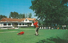 Carte Postale Club de Golf SAINT JEAN Quebec Canada Postcard
