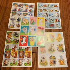 Animal  Stickers - fish, bunnies, dogs, woodsy animals, and more
