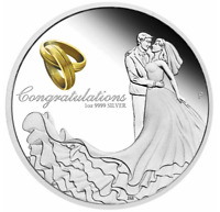 2021 WEDDING 1oz Silver Proof Coin