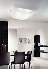 plafoniera lampadario lampada moderna vetro bianco cucina ingresso corridoio