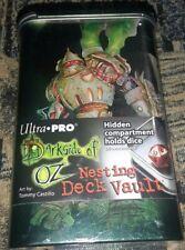 ULTRA PRO DARKSIDE OF OZ TIN MAN Nesting Deck Vault New