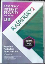 Kaspersky Internet Security 2013 (Retail) (3) - Full Version for Windows, Mac...