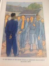 1937 Ho Ming Book Plate Kurt Wiese China Lu Gardener   52501