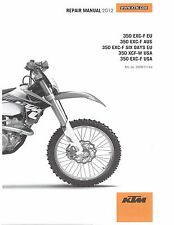 KTM Service Workshop Shop Repair Manual Book 2012 350 EXC-F SIX DAYS