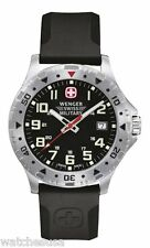 Wenger Men's Black Off Road Swiss Military Watch 79307