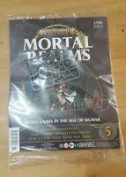 2 x Warhammer Age Of Sigmar Mortal Realms Issue 5 with Xandria Azurebolt X 2