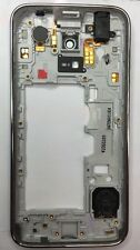 Genuine Samsung Galaxy S5 Mini G800F Middle Frame, Chasis, Earpiece Aux Speaker