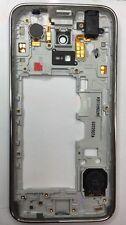 Original Samsung Galaxy S5 Mini G800F Medio Marco, chasis, Altavoz Auricular Aux