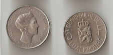 LUXEMBOURG 5 francs 1962