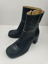 Amanda Smith Mustang Boots Black Women's Size 6.5
