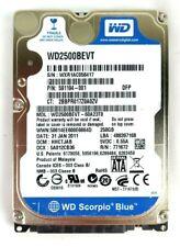 "2.5"" Western Digital 250GB WD2500BEVT WD Scorpio Blue SATA 3Gbps HDD Drive 8MB"