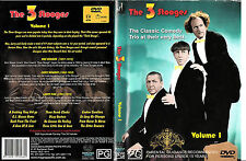 The 3 Stooges:Vol 1-1960-TV Series USA-12 Episodes-DVD