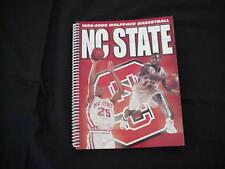 1999-2000 North Carolina State U Basketball Media Guide