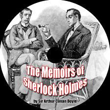 Memoirs of Sherlock Holmes, Arthur Conan Doyle 1 MP3 CD
