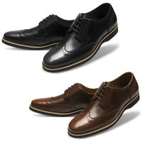 Mooda Mens Leather Shoes Classic Formal Oxfords Dress Shoes OriginL
