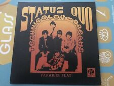 Limited Rare Single CD sleeve STATUS QUO Technicolor Dreams PARADISE FLAT 1968