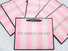 NEW ❤ LOT 10 SMALL Victoria Secret Pink STRIPE PAPER SHOPPING GIFT BAG CHRISTMAS