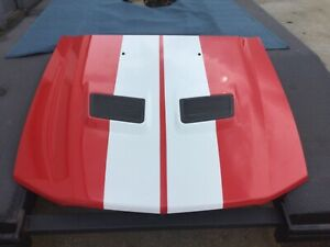 2007 2008 2009 Mustang Shelby GT500 Hood w/Grills Minor With no issues