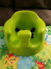 Bumbo Seat Lime Green - Baby Infant Chair - Safety Straps - Nwot - with playmat