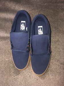 NWOB Men's Vans Pro 721356 Navy/Gum Suede Ultra Cush SkateBoard Sneakers Size 13