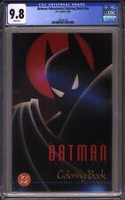 Batman Adventures Coloring Book CGC 9.8 early Harley Quinn 1993 NO RESERVE