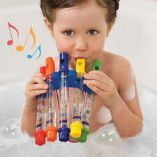 Kids Children Bathing Shower Accessories Bath Tub Water Flute Fun Music Toy Gift