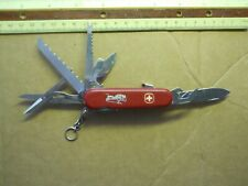 Wenger Sierra Swiss Army knife in red - 5 layer. a big one, lockblade