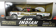 Ertl 1:18 1966 Knafel Pontiac GTO Tin Indian Drag Car Issue #2 PYE ltd 3000