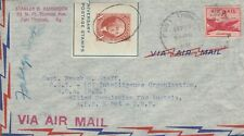 Z5 Fort Thomas Kentucky Sep  1947 air cover to Allied Commission for Austria