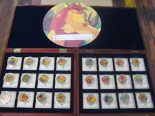 Der König der Löwen - 24 Silberne Münzen- Urkunde- Zertifikat- Limitiert -Disney