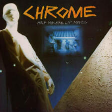 Chrome - Half Machine Lip Moves LP REISSUE NEW CLEOPATRA Helios Creed industrial