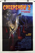 CREEPSHOW 2 - GEORGE KENNEDY / LOIS CHILES - ORIGINAL AMERICAN 1SHT MOVIE POSTER